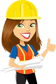 women contractor